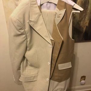 Other - Men's 3 Piece Seersucker Suit
